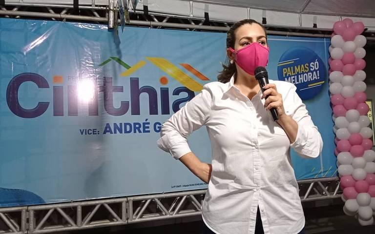 Fonoaudióloga Cinthia Ribeiro (PSDB) é reeleita prefeita em Palmas