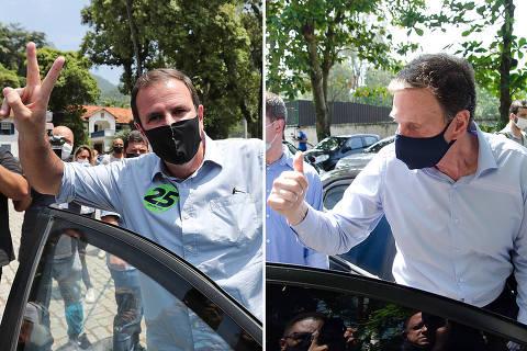 Crivella e Paes trocam ofensas e ameaças de prisão em último debate do Rio