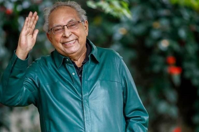O ex-governador Amazonino Mendes, candidato à Prefeitura de Manaus
