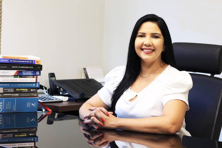A vereadora Cristiane Lopes, candidata à prefeitura de Porto Velho