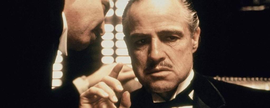 Marlon Brando em cena de