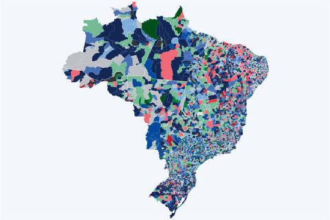 mapa de apuração eleições 2020 17h30 16.nov
