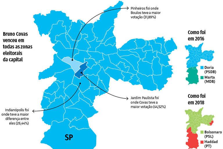 16.11 Nas Ruas - Mapa Zonas Eleitorais Capital