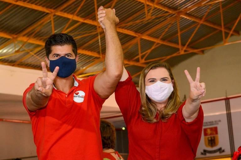 Sem apoio integral do PT, Marília Arraes chega ao 2º turno no Recife com face mais pragmática