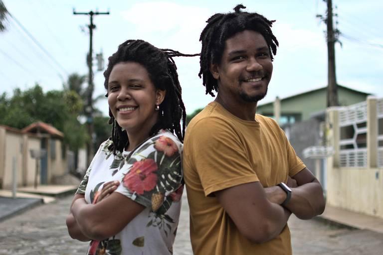 Os irmãos Nathali de Deus e Hugo Lima, fundadores da WoTec