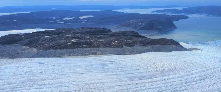 Geleiras da Groenlândia podem derreter mais rapidamente do que o esperado