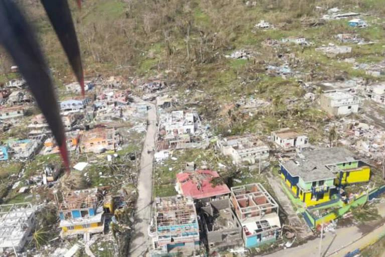 Furacão Iota destrói 98% da infraestrutura da ilha de Providência, na Colômbia
