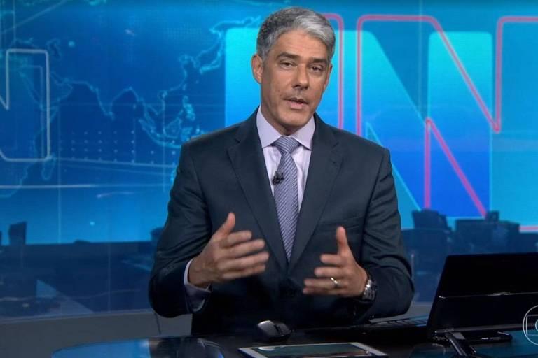 William Bonner explica pane no Jornal Nacional