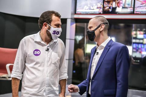 Covas tem 57%, e Boulos, 43%, na véspera da eleição em SP, aponta Ibope