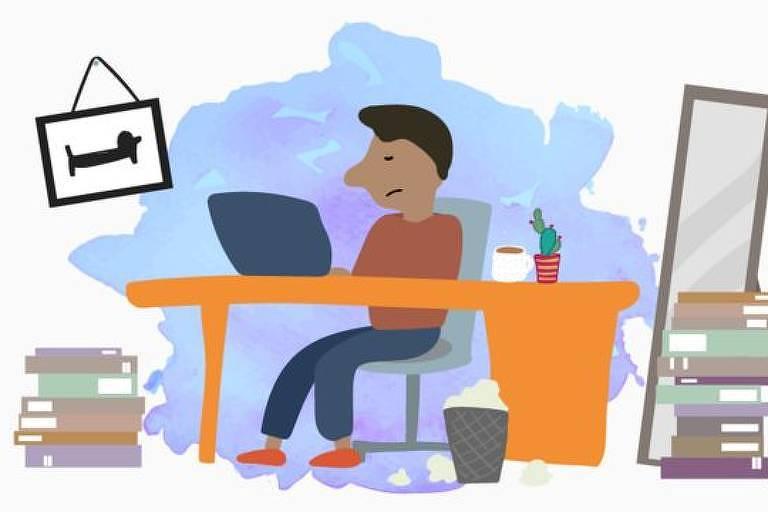 O que nós podemos fazer para ficarmos mais felizes e equilibrados mentalmente, mesmo trabalhando de casa?