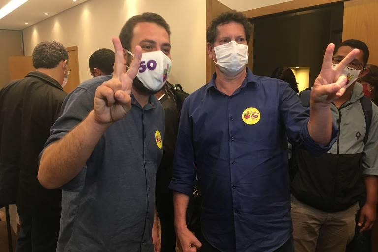 Bruno Covas e Guilherme Boulos disputam 2º turno em São Paulo