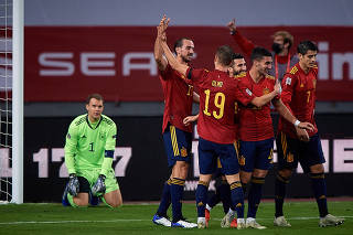 (SP)SPAIN-SEVILLE-UEFA NATIONS LEAGUE-SPAIN VS GERMANY