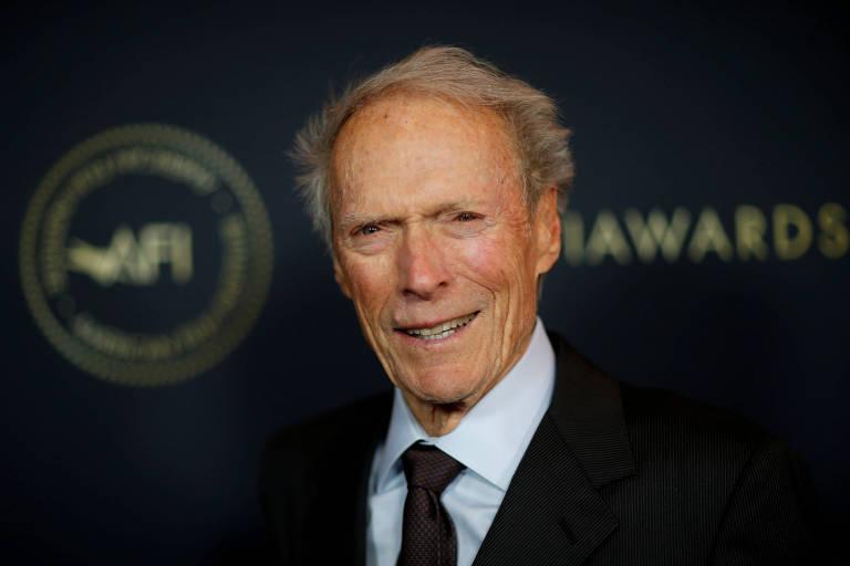 O ator e cineasta Clint Eastwood