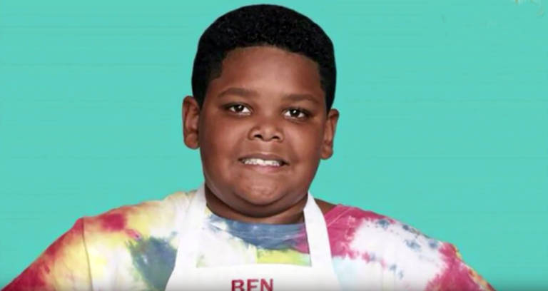 Ben Atkins do 'MasterChef Junior'