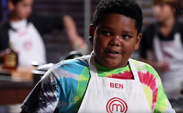 Imagens do Chef Junior Ben Atkins