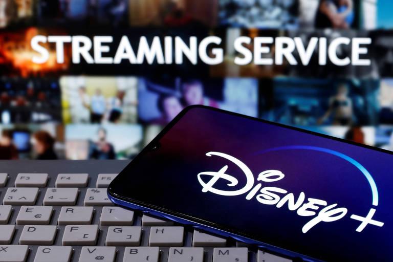 Serviço de streaming Disney+, que chegou ao Brasil em novembro
