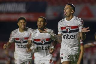 São Paulo 3 x 0 Flamengo - Morumbi - Copa do Brasil