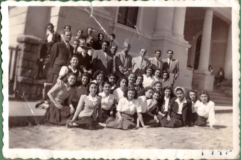 Foto de turma de formandos