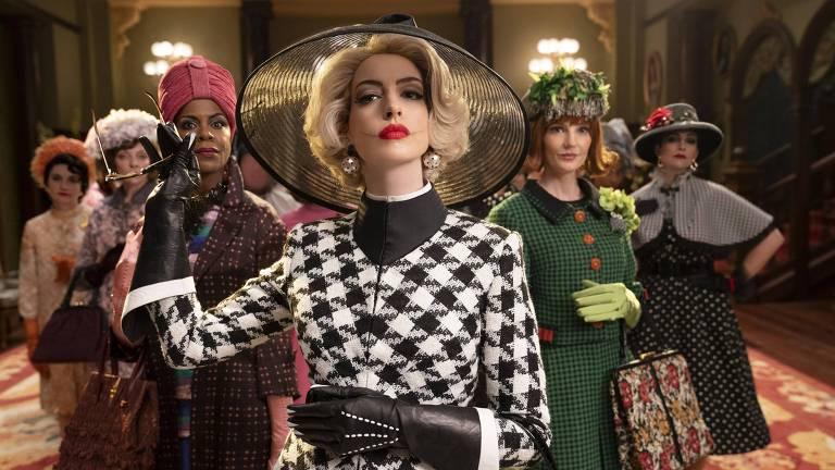 Cena do filme 'Convenção das Bruxas', com Anne Hathaway