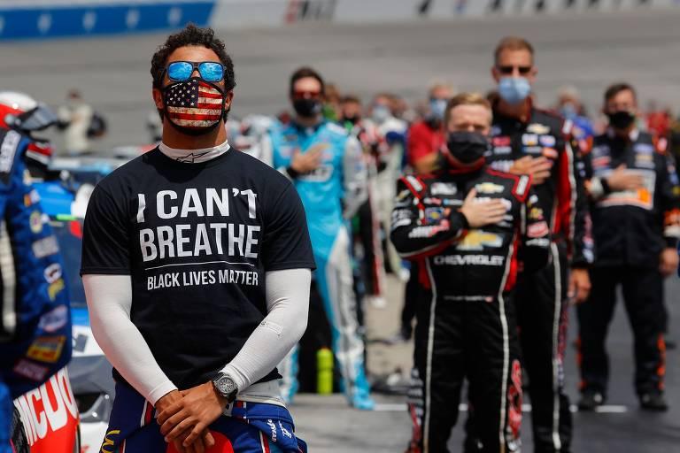 Protestos antirracistas no esporte em 2020