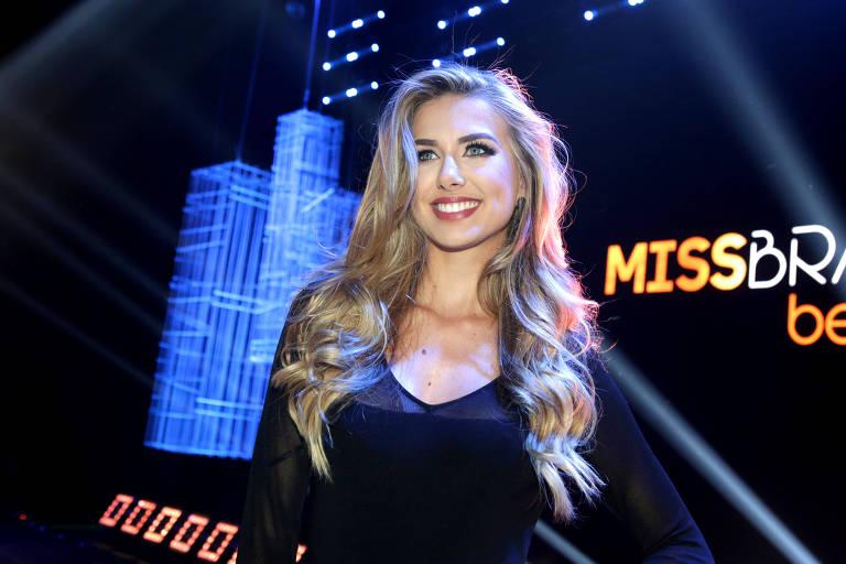 Miss Brasil 2015 Marthina Brandt assume como diretora-executiva do Miss Brasil Universo