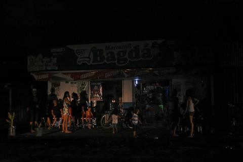 Crise de energia no Amapá, apagão em Macapá. 7 de novembro de 2020. (Foto: Rudja Santos/Amazônia Real)