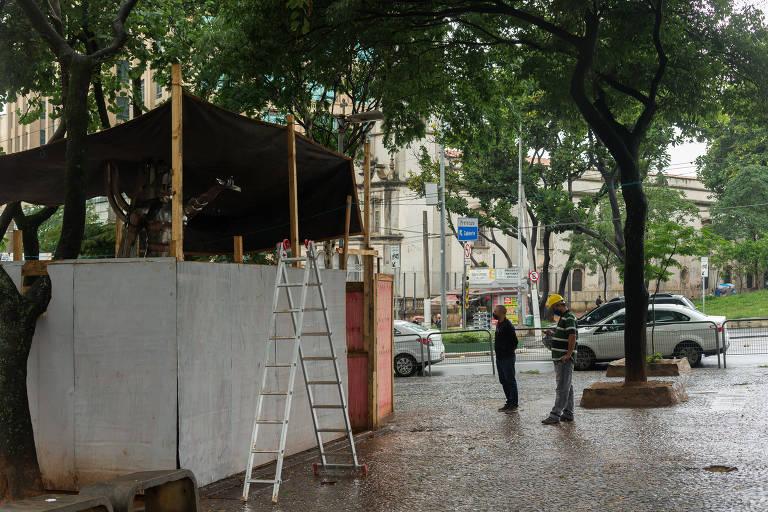 Centro de SP ganha estátua em homenagem a histórico arquiteto negro
