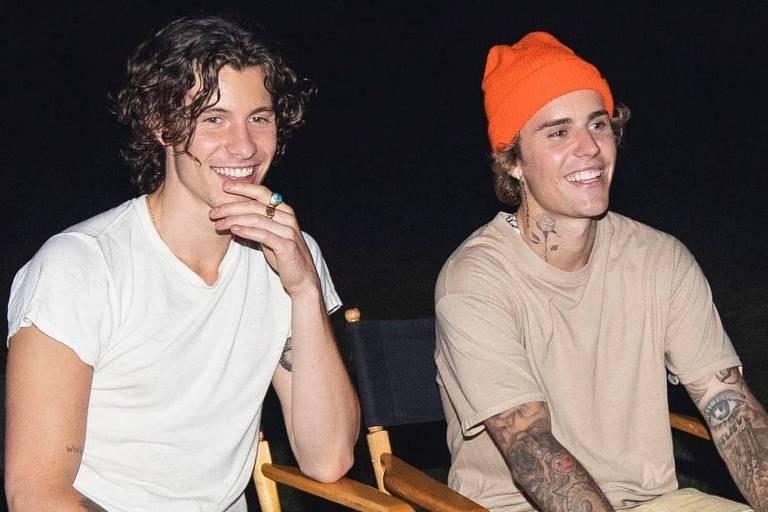 Shawn Mendes e Justin Bieber refletem sobre a vida e inseguranças em 'Monster'; assista