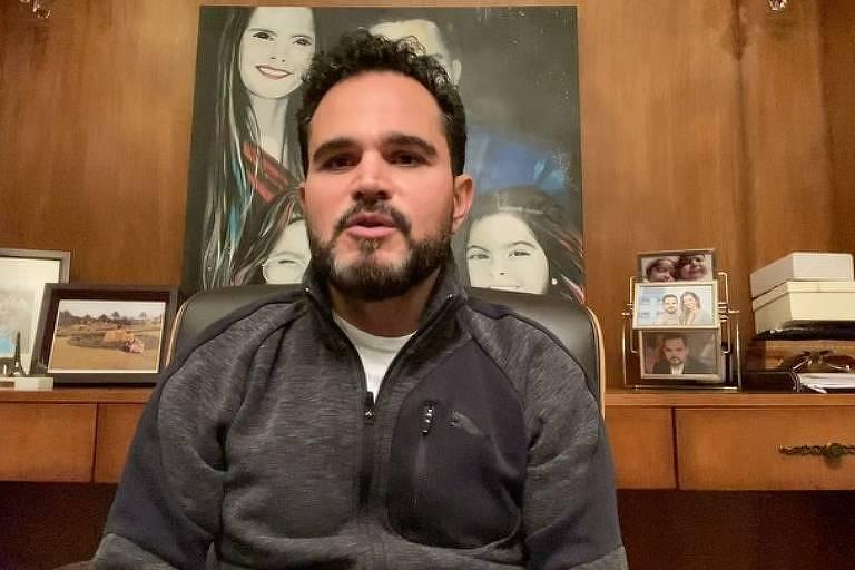 Luciano Camargo afirma ter recebido diagnóstico positivo para Covid-19