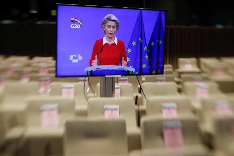 Países do G20 dizem que farão todo o possível para conter a pandemia e salvar empregos