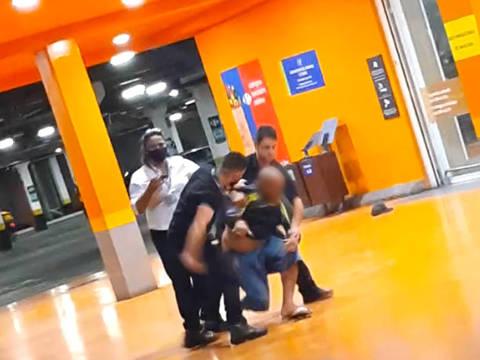 PORTO ALEGRE, RIO GRANDE DO SUL,   João Alberto Silveira Freitas, 40, morreu após espancamento por dois seguranças de uma loja do do supermercado Carrefour, em Porto Alegre. Credito:Reprodução/TV Folha
