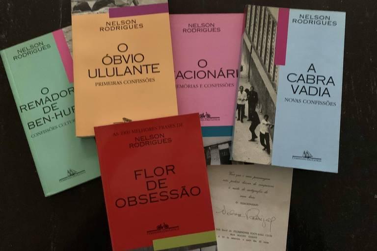 """Antologias das """"Confissões"""" de Nelson Rodrigues em edições da Companhia das Letras nos anos 90 --- Heloisa Seixas."""