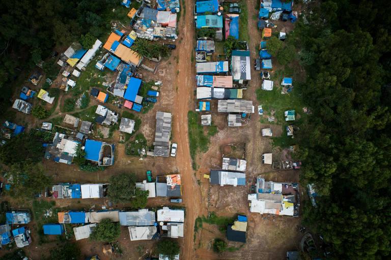 Maior acampamento do MTST em São Paulo