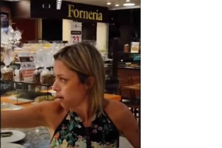 Mulher agride e insulta funcionários e clientes em padaria de São Paulo
