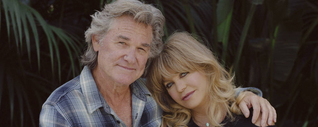 Goldie Hawn e Kurt Russell em Los Angeles