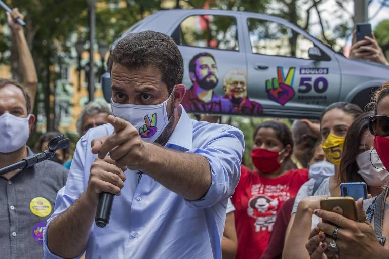 Eleição 2020 - Guilherme Boulos na reta final