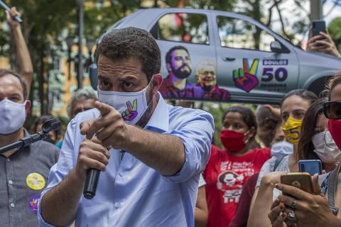 Desempenho de Boulos faz PSDB acender alerta sobre abstenção e vice de Covas