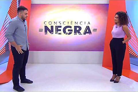 Aline Aguiar, apresentadora da TV Globo, falou sobre racismo na última sexta-feira (20). Credito Reprodulao Tv Globo