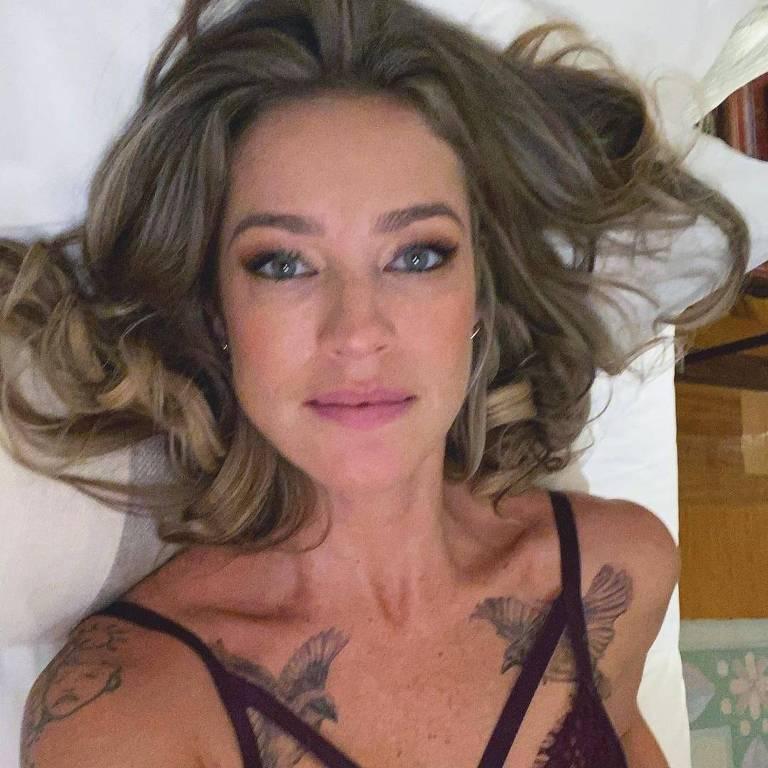 Imagem da atriz Luana Piovani
