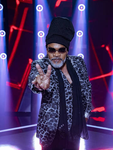 Carlinhos Brown no The Voice Brasil 2020