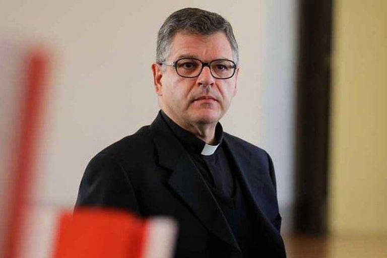 O monsenhor Marcos Pavan, novo maestro diretor da Capela Sistina