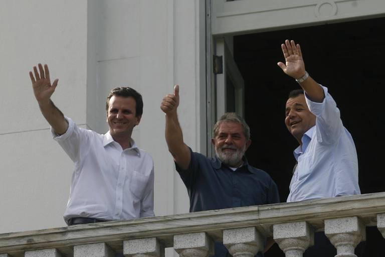 Paes, que escreveu carta a Lula em 2008, agora diz que Crivella se humilha por apoio de Bolsonaro