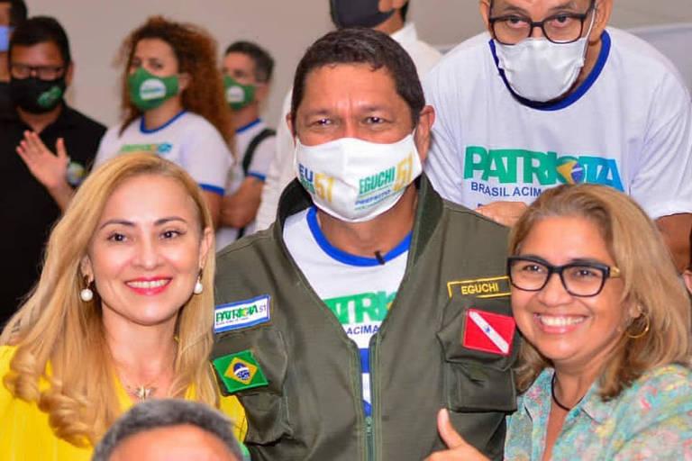 Não sou o candidato do Bolsonaro em Belém, sou alinhado às ideias dele, diz Delegado Eguchi