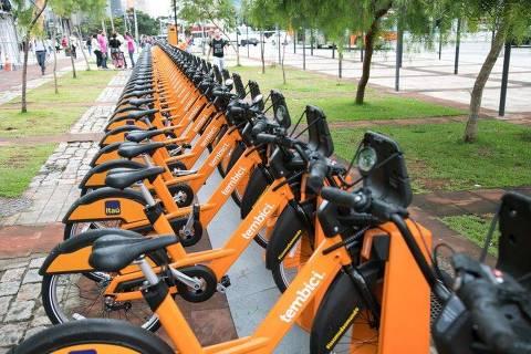 Bicicletas de empréstimo da Tembici