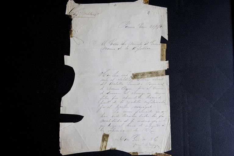 carta antiga