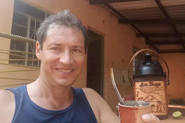 o chargista Marco Antônio Rosa Borges que estava desaparecido em MS — Foto: Facebook/Reprodução