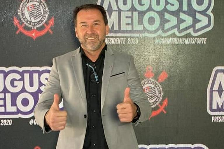 Augusto Melo propõe até roda-gigante para recuperar marca Corinthians