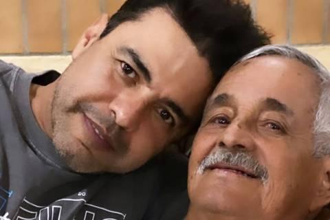Zezé di Camargo e o pai Seu Francisco Camargo