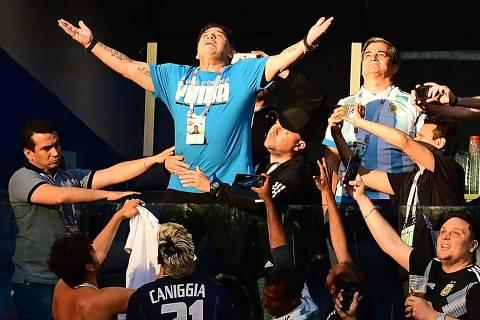 Maradona foi 'Dios' de verdade
