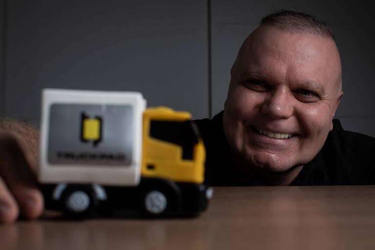 Carlos Mira, CEO da TruckPad, startup que conecta caminhoneiros